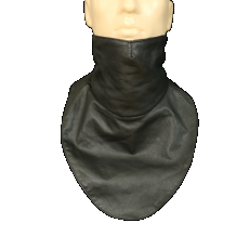 leather motorcycle scarf X 01