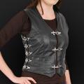 Leather vest m05k