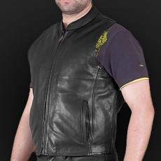 Leather vest m11