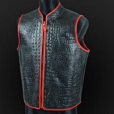 Leather vest m-20c