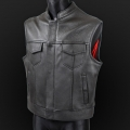 Leather vest m18