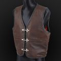 Leather vest m22