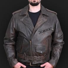 Motorcycle jacket K02 sa brown