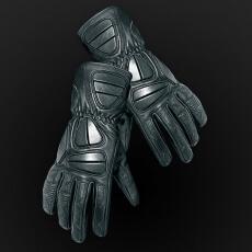 Skórzane rękawice motocyklowe