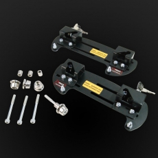 Quick relase motorcycle side frames, medium model